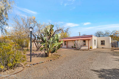 Tucson Single Family Home Active Contingent: 2644 N Orchard Avenue
