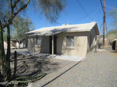 Tucson Single Family Home Active Contingent: 2910 N Tyndall Avenue