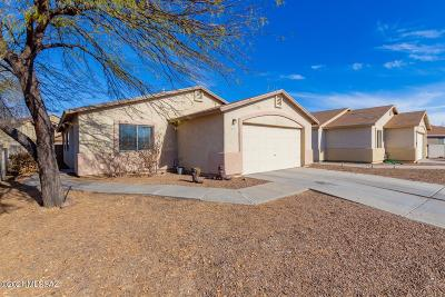 Tucson Single Family Home Active Contingent: 6282 S Truth Place