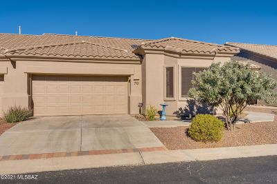 Oro Valley Townhouse For Sale: 13401 N Rancho Vistoso Boulevard #70
