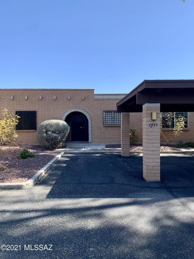 Tucson Townhouse Active Contingent: 1233 S Joey Place