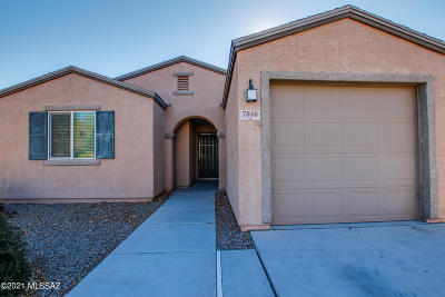 Tucson Single Family Home Active Contingent: 7046 S Red Maids Drive