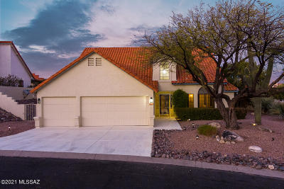 Oro Valley Single Family Home For Sale: 1610 Ashdown Place