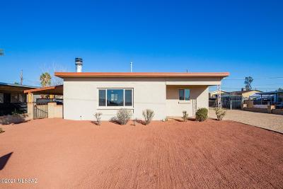 Tucson Single Family Home Active Contingent: 6741 S Craycroft Road