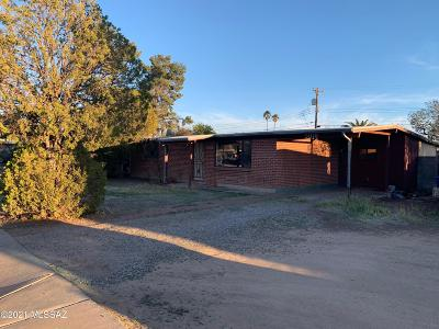 Tucson Single Family Home Active Contingent: 5010 E 25th Street