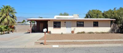 Tucson Single Family Home Active Contingent: 6425 E Colgate Drive