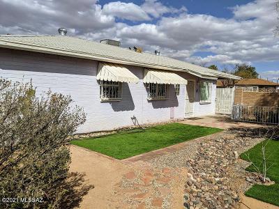 Tucson Single Family Home Active Contingent: 5033 E Montecito Street