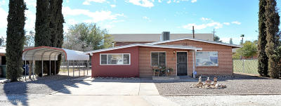 Tucson Single Family Home For Sale: 706 E Joan Place