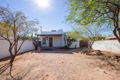 Tucson Single Family Home For Sale: 1020 E Halcyon Road
