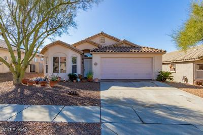 Marana Single Family Home For Sale: 5469 W White Dove Road