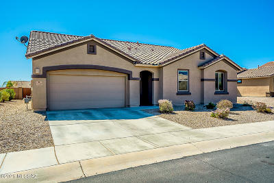 Marana Single Family Home Active Contingent: 14187 N Bronze Statue Avenue