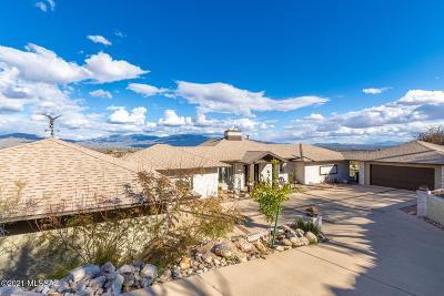Tucson Single Family Home For Sale: 4540 N Quartz Hill Drive