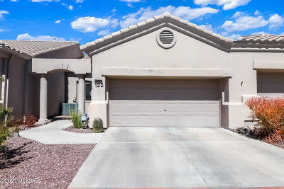 Oro Valley Townhouse Active Contingent: 13401 N Rancho Vistoso Blvd #122