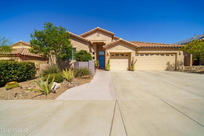 Marana Single Family Home Active Contingent: 4920 W New Shadow Way