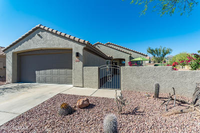 Marana Single Family Home Active Contingent: 5242 W Winding Desert Drive