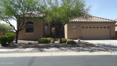 Marana Single Family Home For Sale: 4997 W Bass Butte Lane