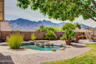 Oro Valley Single Family Home Active Contingent: 2388 E Spring Pioneer Lane