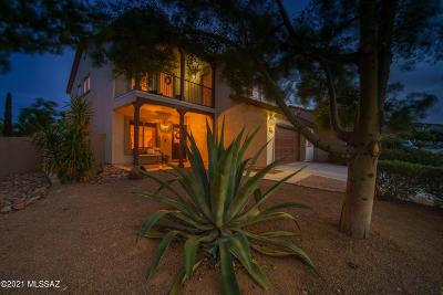 Sahuarita Single Family Home Active Contingent: 513 W Camino Tunera