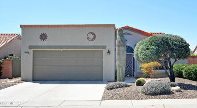 Oro Valley Single Family Home Active Contingent: 14299 N Copperstone Drive