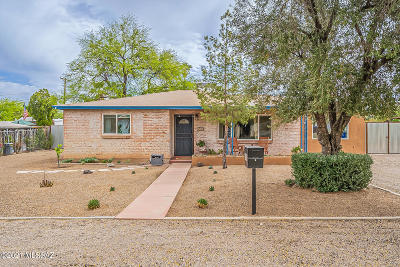 Tucson Single Family Home For Sale: 918 N Montezuma Avenue