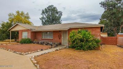 Tucson Single Family Home Active Contingent: 1452 S Avenida Sirio