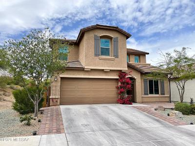 Tucson Single Family Home Active Contingent: 5792 S Tiger Lily Place