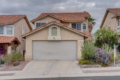 Oro Valley Single Family Home Active Contingent: 11513 N Eagle Peak Drive