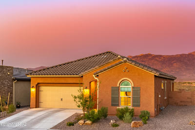 Oro Valley Single Family Home Active Contingent: 13220 N Weatherglass Drive