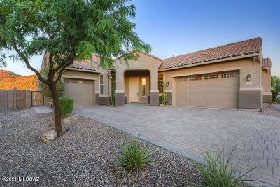 Marana Single Family Home Active Contingent: 9690 N Saguaro Breeze Way