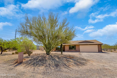 Tucson Single Family Home Active Contingent: 1401 W Liddell Drive