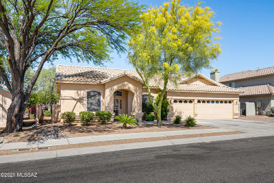 Oro Valley Single Family Home Active Contingent: 12495 N Wayfarer Way
