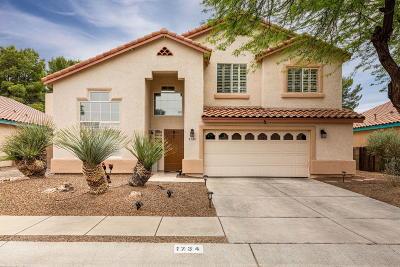 Tucson Single Family Home Active Contingent: 1734 N Sandstone Ridge Drive