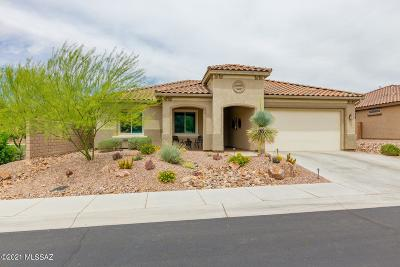 Marana Single Family Home Active Contingent: 6664 W Tuckup Trail