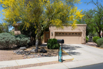 Oro Valley Single Family Home Active Contingent: 430 E Desert Golf Place
