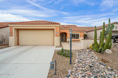 Oro Valley Single Family Home Active Contingent: 2308 E Indian Town Way