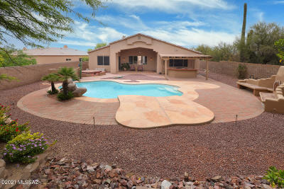 Marana Single Family Home Active Contingent: 4808 W Pier Mountain Place