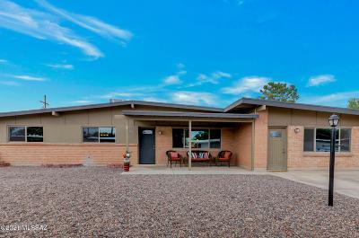 Tucson Single Family Home Active Contingent: 8331 E Shiloh Street