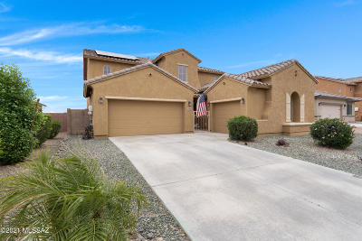Marana Single Family Home Active Contingent: 12860 N White Fence Way