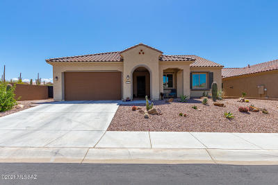 Marana Single Family Home Active Contingent: 14008 N Bright Angel Trail