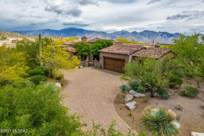 Oro Valley Single Family Home For Sale: 14606 N Granite Peak Place