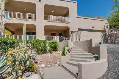 Tucson Single Family Home Active Contingent: 10 W Stone Loop