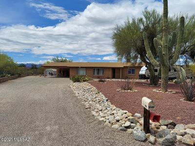 Tucson Single Family Home For Sale: 1985 W Placita Tampico
