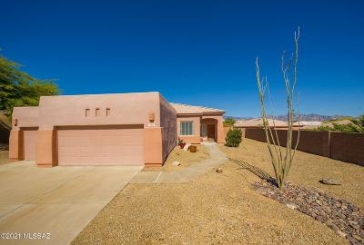 Marana Single Family Home Active Contingent: 4842 W Saguaro Point Place