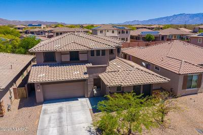Marana Single Family Home Active Contingent: 3444 W Tailfeather Drive
