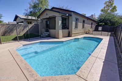 Tucson Single Family Home For Sale: 1100 E 9th Street