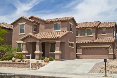 Marana Single Family Home Active Contingent: 3672 W Scavenger Drive