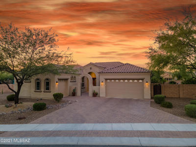 Tucson Single Family Home Active Contingent: 8499 N National Drive