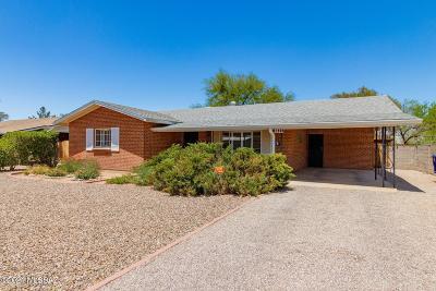 Tucson Single Family Home For Sale: 1269 E Ellis Street