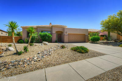 Marana Single Family Home Active Contingent: 13060 N Pier Mountain Road