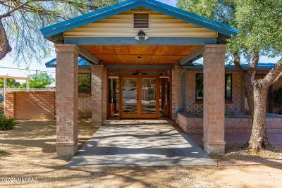 Tucson Single Family Home Active Contingent: 2509 E Hedrick Drive